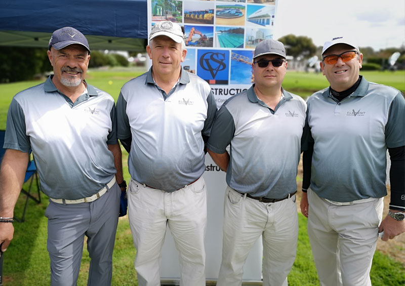 Element Consulting Engineers - CSV Construction Golf Day Supporting Helderberg Stroke Support Group